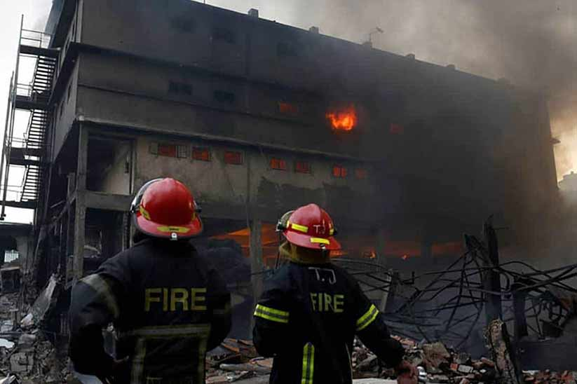 For Major Developments it is made Mandatory to Install Firefighting Equipment