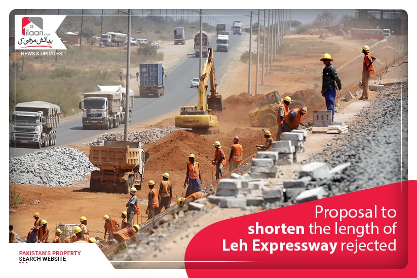 Proposal to shorten the length of LehExpressway rejected