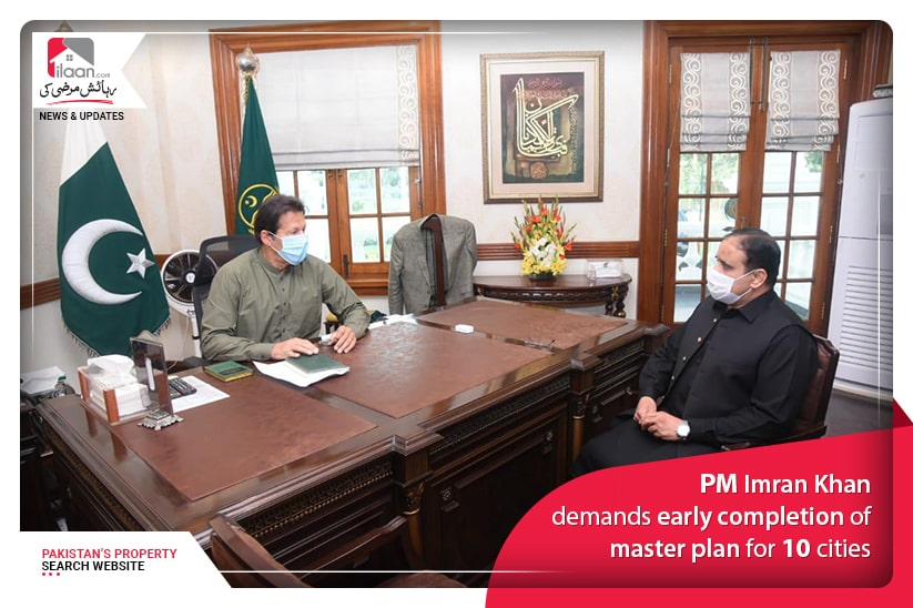 PM Imran Khan demands early completion of master plan for 10 cities