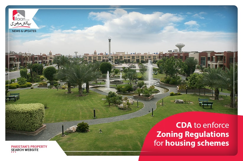 CDA to enforce Zoning Regulations for Housing Schemes