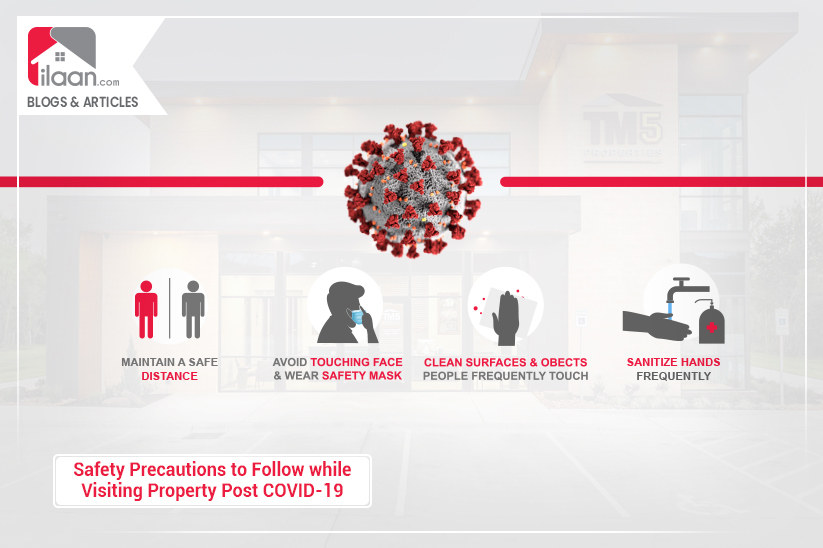 Safety Precautions to Follow while Visiting Property Post COVID-19