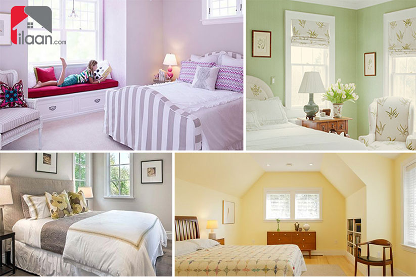 5 Colors to Set your Mood for a Calm Bedroom
