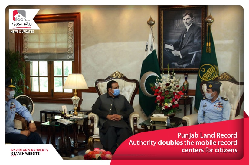 Punjab Land Record Authority doubles the mobile record centers for citizens