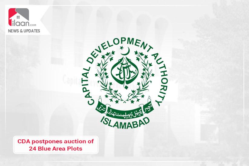 CDA postpones auction of 24 Blue Area Plots