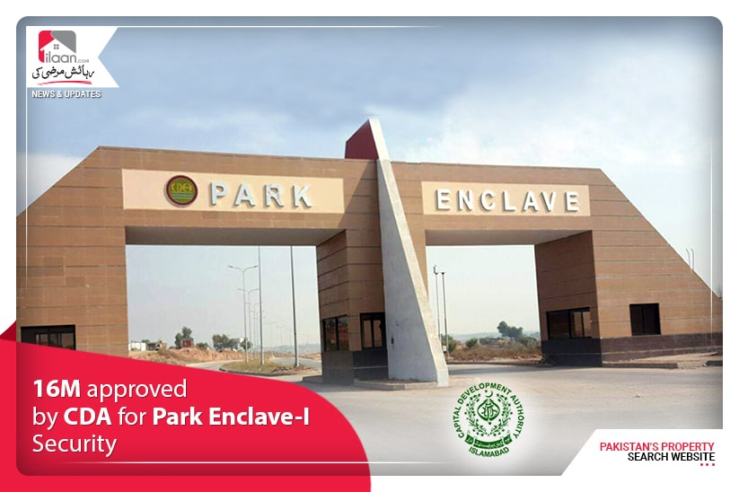 16M approved by CDA for Park Enclave-I Security