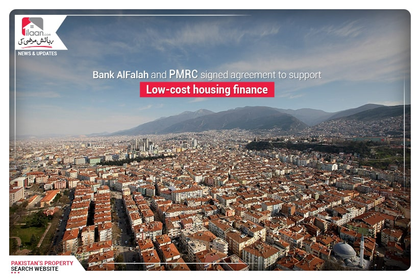 Bank AlFalah and PMRC signed agreement to support Low-cost housing finance