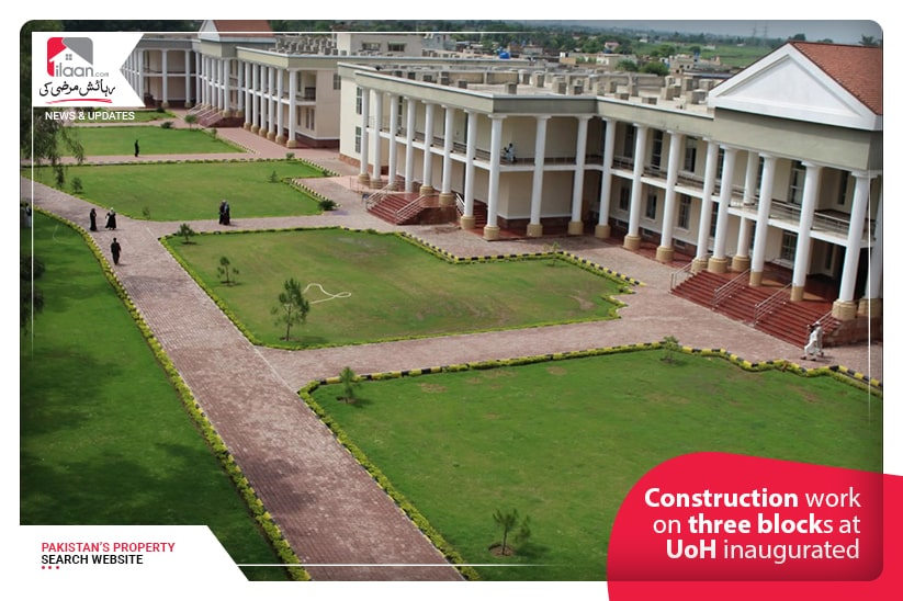 Construction work on three blocks at UoH inaugurated