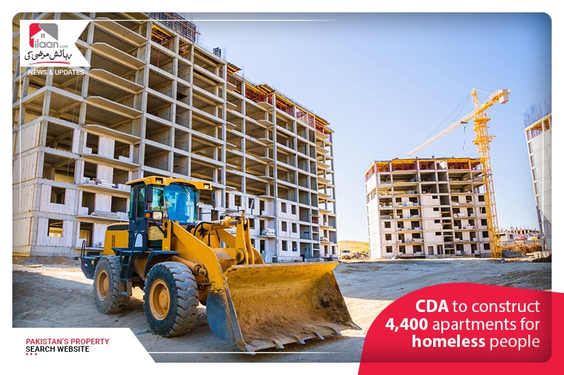 CDA to construct 4,400 apartments for homeless people