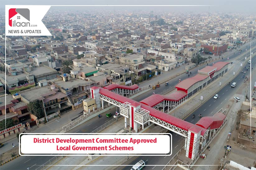 District Development Committee Approved Local Government Schemes