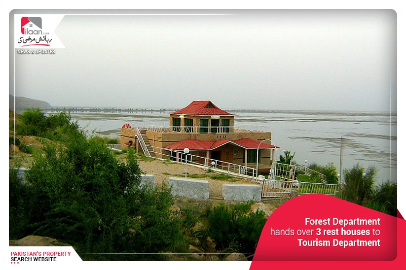 Forest Department hands over 3 rest houses to Tourism Department