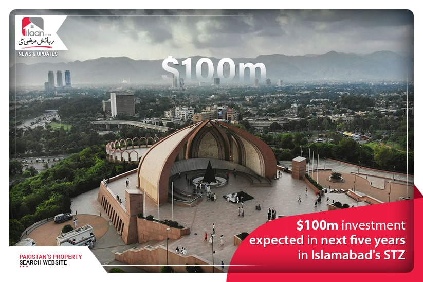 $100m investment expected in next five years in Islamabad's STZ