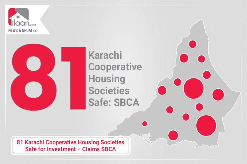 81 Karachi Cooperative Housing Societies Safe for Investment – Claims SBCA