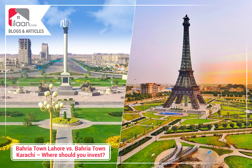Bahria Town Lahore vs. Bahria Town Karachi – Where should you invest?