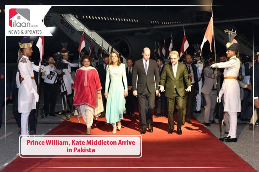 Prince William, Kate Middleton Arrive in Pakistan