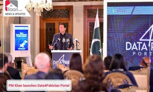 PM Khan launches Data4Pakistan Portal