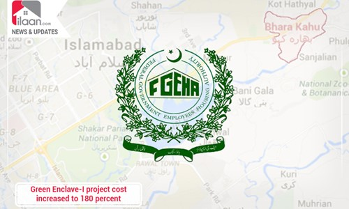 Green Enclave-I project cost increased to 180 percent