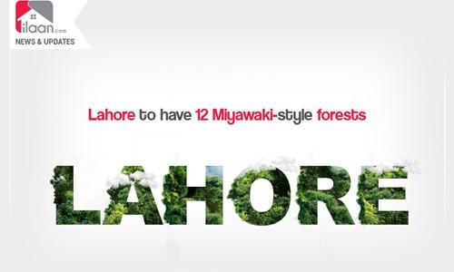 Lahore to have 12 Miyawaki-style forests