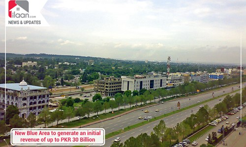 New Blue Area to generate an initial revenue of up to PKR 30 Billion