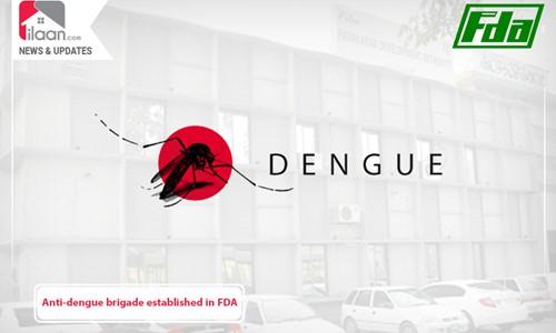 Anti-dengue brigade established in FDA