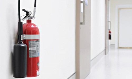 The crackdown of buildings missing fire safety arrangements