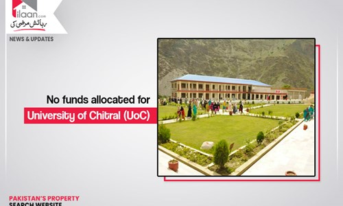 No funds allocated for University of Chitral (UoC)
