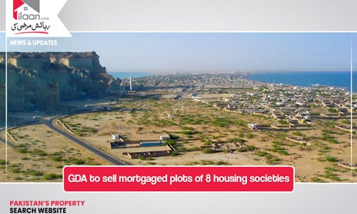 GDA to sell mortgaged plots of 8 housing societies