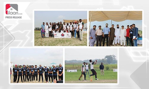 ilaan.com Official Sponsors of IVY Farms Cricket Tournament