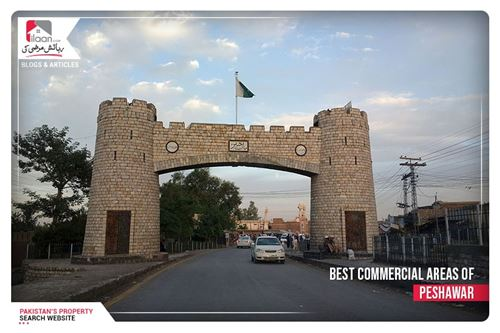 Best Commercial Areas of Peshawar