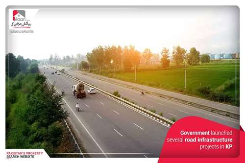 Government launched several road infrastructure projects in KP