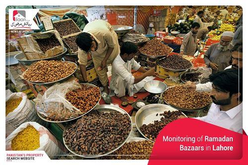 Monitoring of Ramadan Bazaars in Lahore