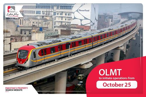 OLMT to initiate operations from October 25
