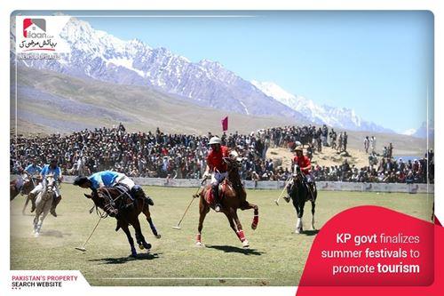 KP govt finalizes summer festivals to promote tourism
