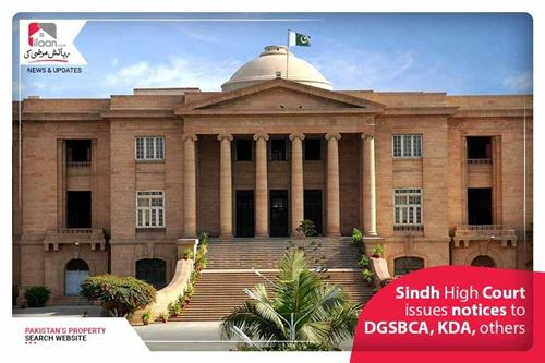 Sindh High Court issues notices to DG SBCA, KDA, others