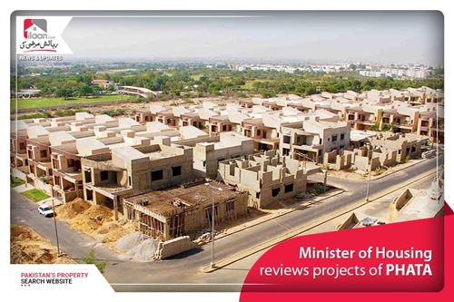 Minister of Housing reviews projects of PHATA