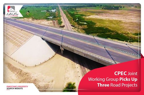 CPEC Joint Working Group Picks Up Three Road Projects