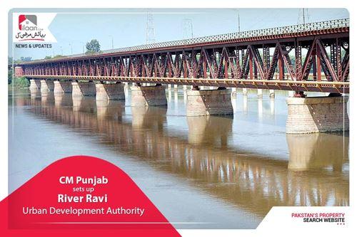 CM Punjab sets up River Ravi Urban Development Authority