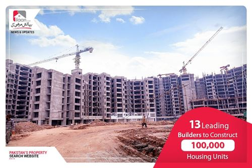 13 Leading Builders to Construct 100,000 Housing Units