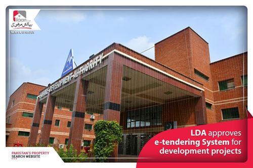 LDA approves e-tendering System for development projects