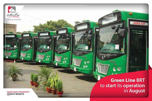 Green Line BRT to start its operation in August