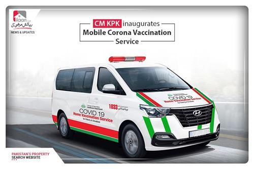 CM KPK inaugurates Mobile Corona Vaccination Service