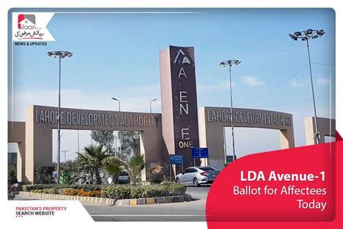 LDA Avenue-1 – Ballot for Affectees today