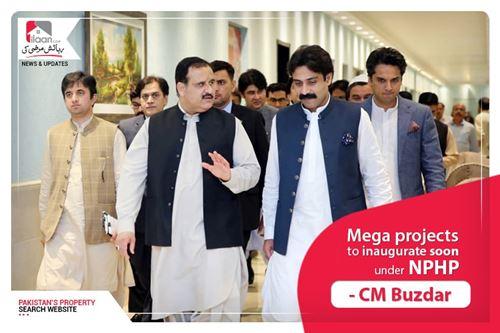 Mega projects to inaugurate soon under NPHP - CM Buzdar