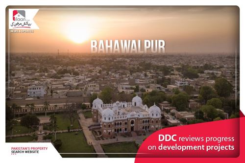 DDC Reviews Progress on Development Projects