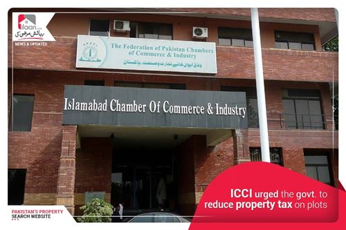 ICCI Urged the Govt. to Reduce Property tax on Plots