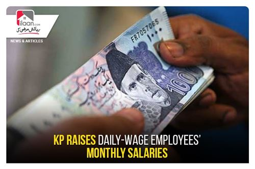 KP raises daily-wage employees' monthly salaries