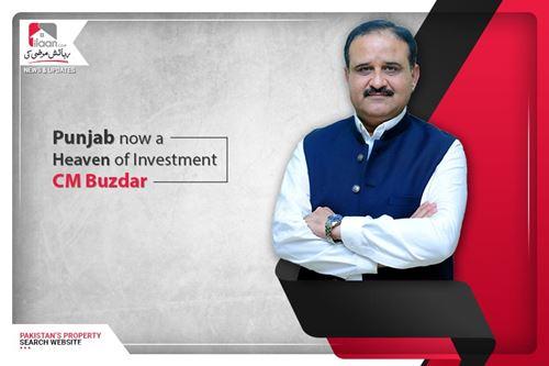 Punjab now a Heaven of Investment: CM Buzdar