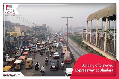 Building of Elevated Expressway at Shadara
