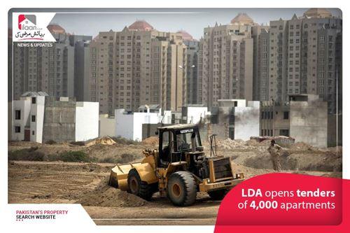 LDA opens tenders of 4,000 apartments