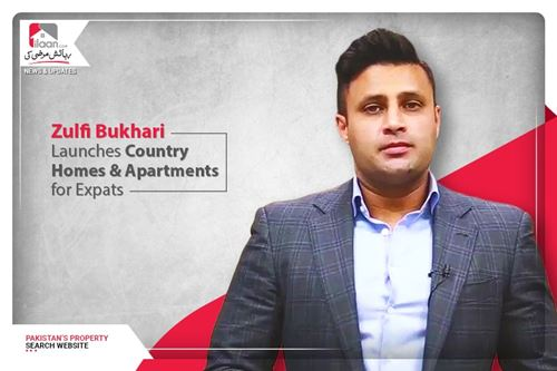 Zulfi Bukhari launches country homes & apartments for expats