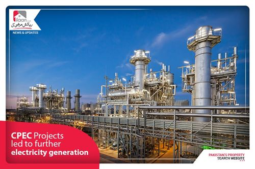 CPEC Projects led to further electricity generation